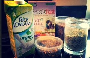 Teff ontbijt - lekker, snel en glutenvrij