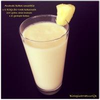 Ananas-kokos smoothie