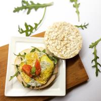 Rijstwafels, gezonde snack of lunch
