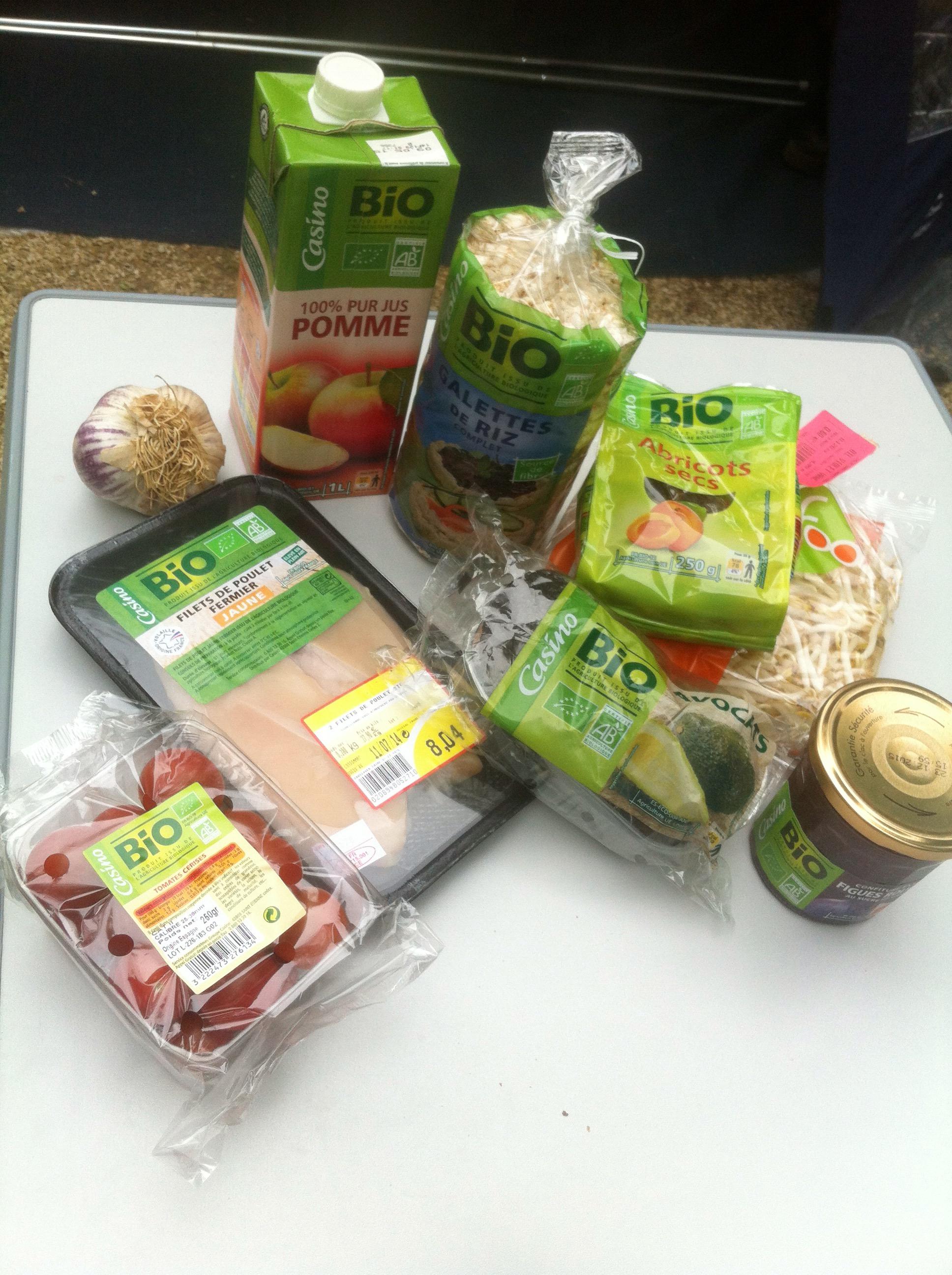 Bio producten Frankrijk